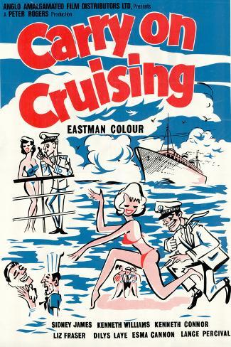 Carry on Cruising Art Print