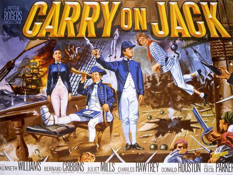 Carry on Jack Art Print