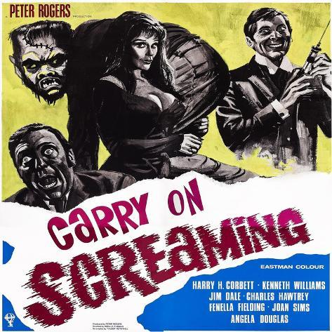 Carry on Screaming!, 1966 Art Print