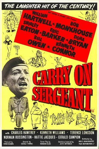 Carry on Sergeant Konstprint