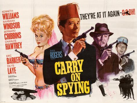 Carry on Spying Art Print