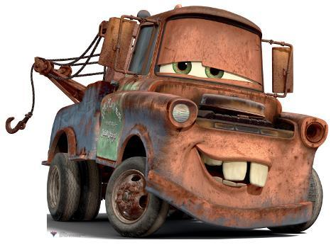 Cars 2 - Mater Stand Up