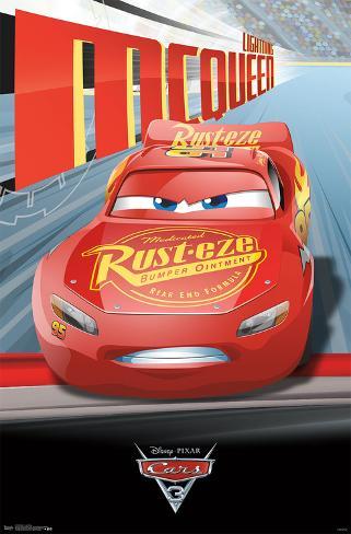 Cars 3 - Lightning Poster