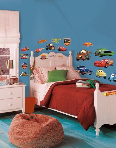 Cars - Campioni della Piston Cup (sticker murale) Decalcomania da muro