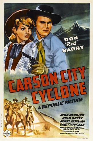 Carson City Cyclone Art Print