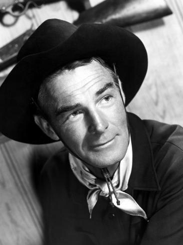Carson City, Randolph Scott, 1952 Photo