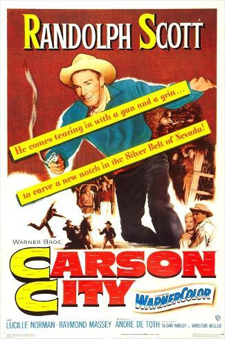 Carson City Art Print