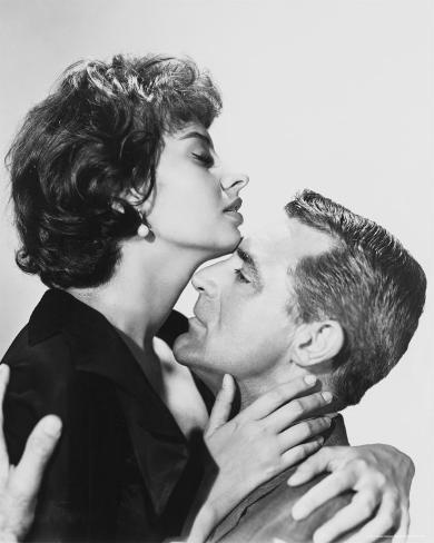 Cary Grant & Sophia Loren Photo