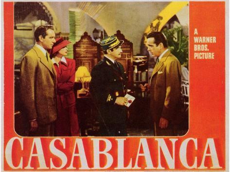 Casablanca, 1942 Art Print