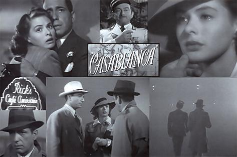 Casablanca Mounted Print