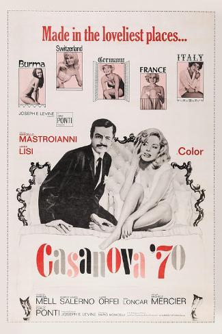 Casanova '70 Art Print