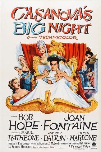 Casanova's Big Night, 1954 Art Print
