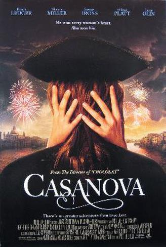 Casanova Double-sided poster