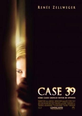 Case 39 Double-sided poster