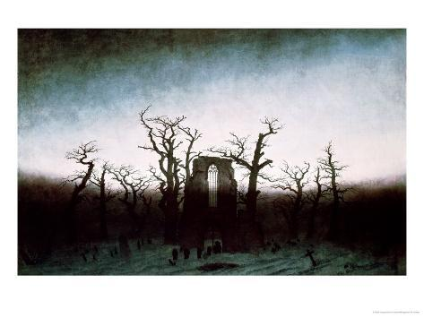 Abbey in the Oakwood, 1810 Giclee Print