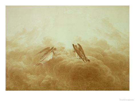 Angel in Prayer, circa 1826-34 Giclee Print