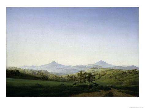 Bohemian Landscape Giclee Print