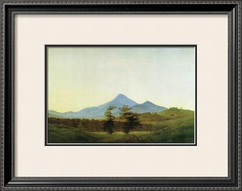 Bohemian Landscape Framed Giclee Print