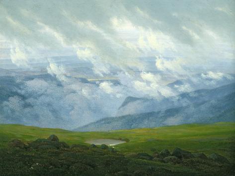 Drifting Clouds Giclee Print
