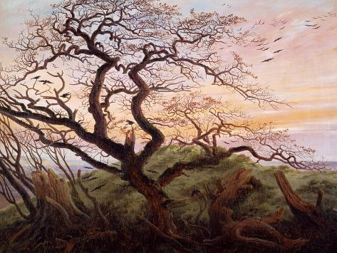 The Tree of Crows, 1822 Giclee Print