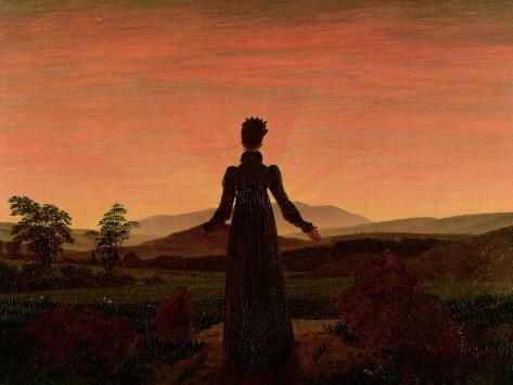 Woman at Dawn Giclee Print