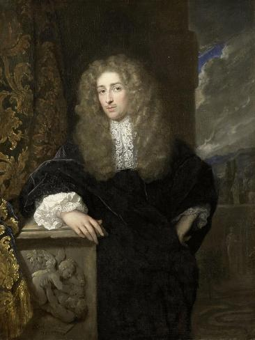 Portrait of a Man, Possibly a Member of the Van Citters Family Art Print