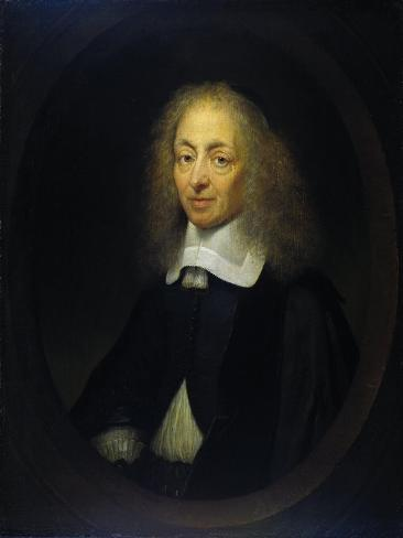 Portrait of Constantijn Huygens Art Print