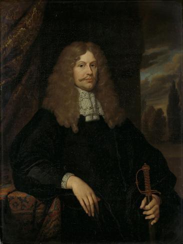 Portrait of Cornelis Backer, Councillor, Alderman, and Colonel of the Amsterdam Militia Art Print
