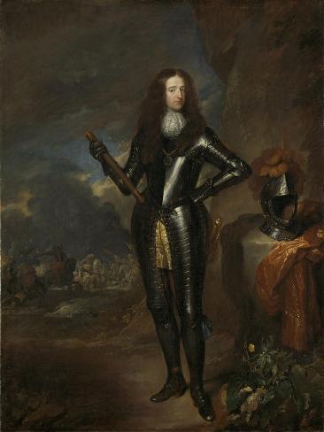 William III, Prince of Orange and Since, King of England Art Print