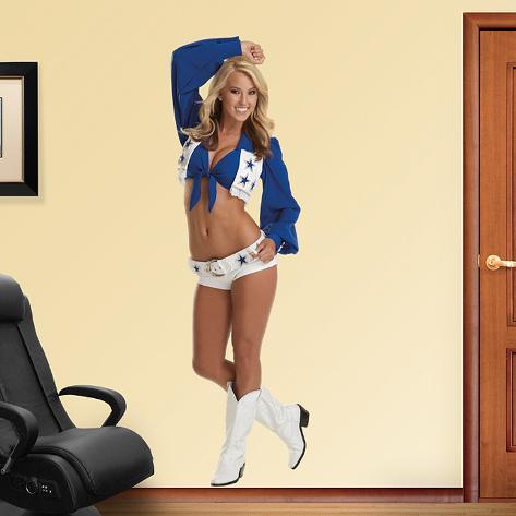 Cassie Trammell- Dallas Cowboys Cheerleaders Wall Decal