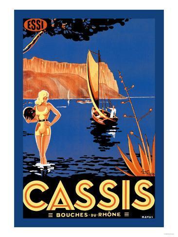 Cassis bouches du rhone poster for Ca bouche du rhone