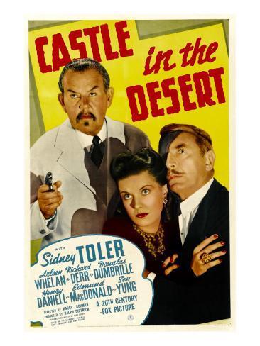 Castle in the Desert, Sidney Toler, Arleen Whelan, Douglass Dumbrille, 1942 Photo