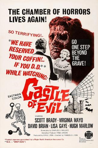 Castle of Evil Konstprint