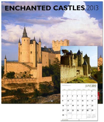 Castles, Enchanted - 2013 Wall Calendars
