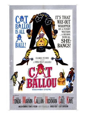 Cat Ballou, 1965 Art Print
