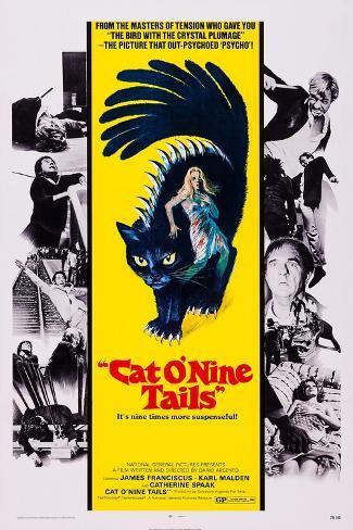 Cat O' Nine Tails, (Aka Il Gatto a Nove Code) Lámina
