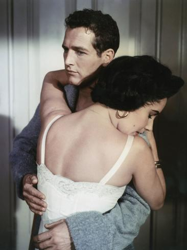 Cat on a Hot Tin Roof 1958 Directed by Richard Brooks Elizabeth Taylor and Paul Newman Photo