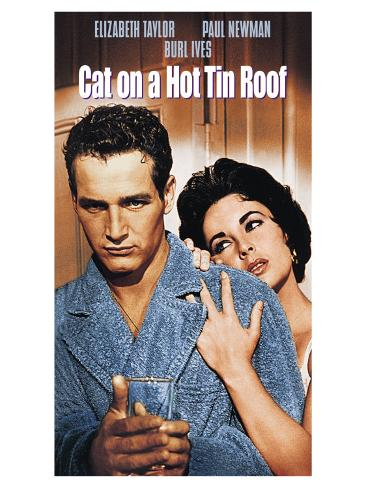 Cat on a Hot Tin Roof, 1958 Art Print