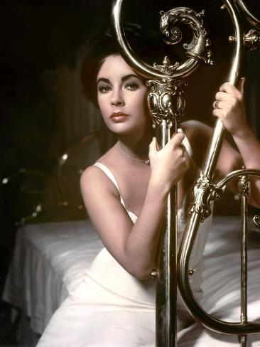 Cat on a Hot Tin Roof, Elizabeth Taylor, Directed by Richard Brooks, 1958 Photo