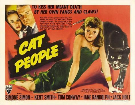 Cat People Stampa master