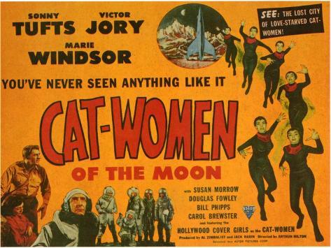 Cat Women of the Moon, 1954 Art Print