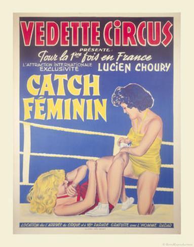 Catch Feminin Art Print