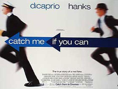 Catch Me If You Can Original Poster