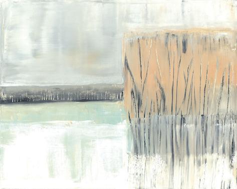 Glimpse I Stretched Canvas Print