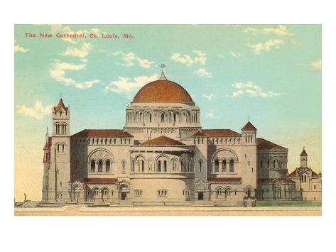 Cathedral, St. Louis, Missouri Art Print