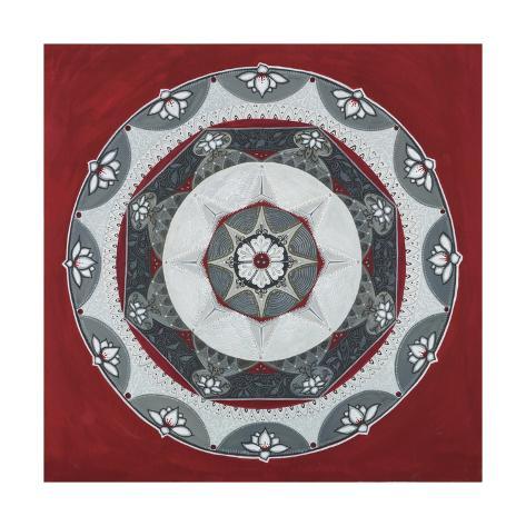 Everything Mandala Stampa giclée