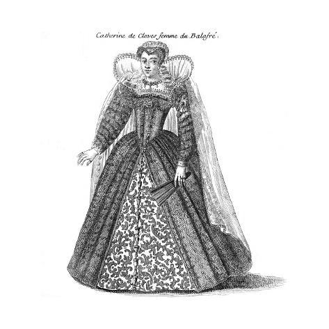 Catherine Duchesse Guise Lámina giclée