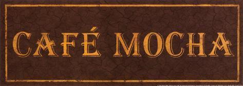 Cafe Mocha Art Print