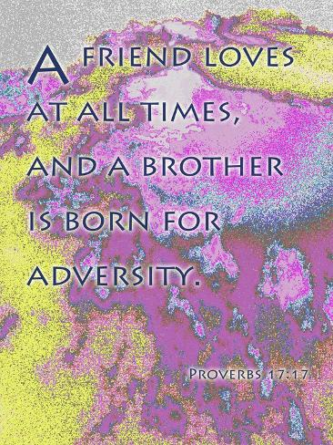 Proverbs 17:9 Giclee Print