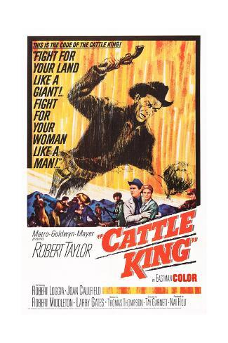 Cattle King Giclee Print